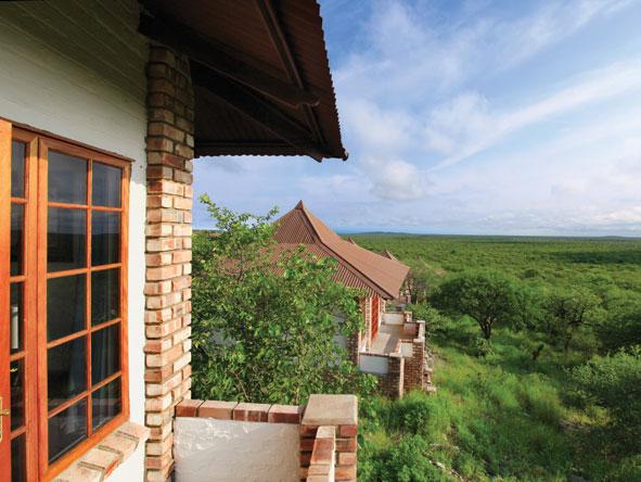 Green and lush Namibia