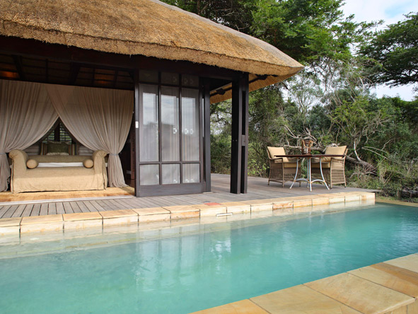 Phinda Vlei Lodge, Swimming Pool