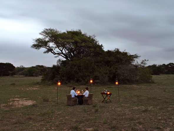 Safari, private dining