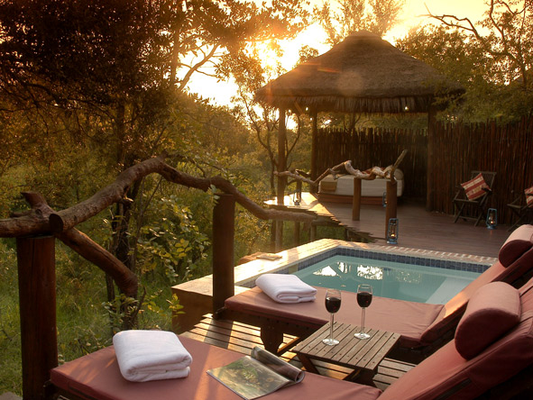 Sundowners in Africa