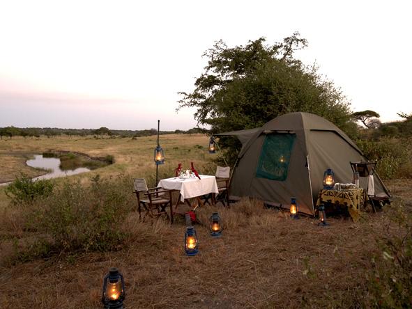 Fly Camping, Tanzania