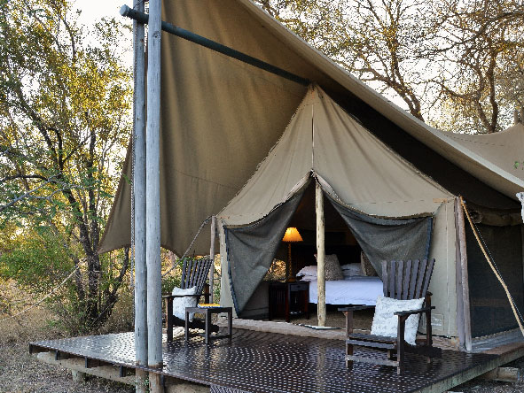 Exclusive safari, Plains Camp