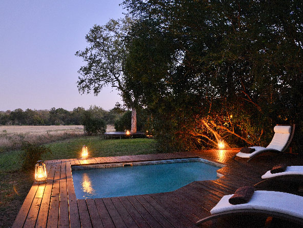 Plains Camp, plunge pool