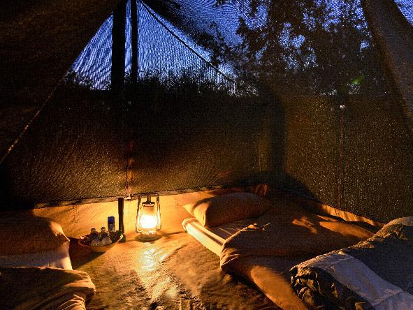 Wilderness tents, Kruger National Par