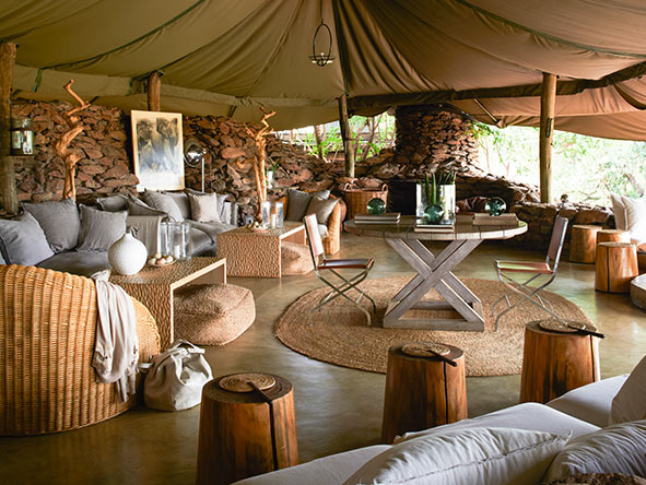 Singita Faru Faru, Main Lodge