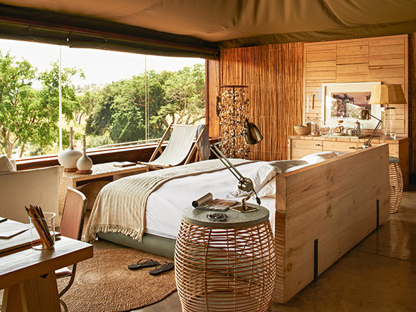 Singita Faru Faru, Private suite