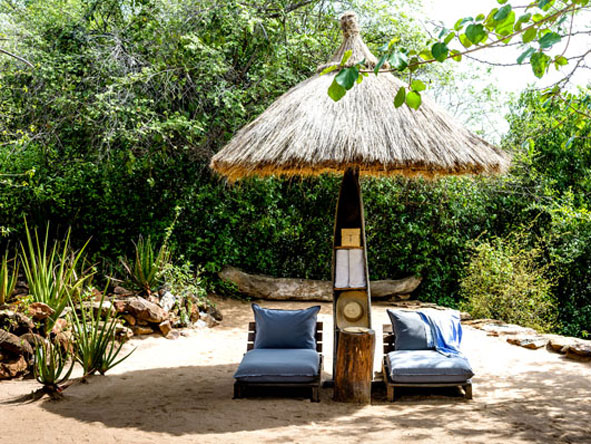 Privacy at Singita Faru Faru