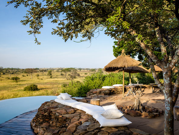 Singita, Swimming pool, Tanzania