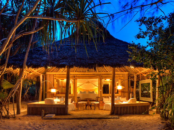 Mnemba Island Beachfront suites