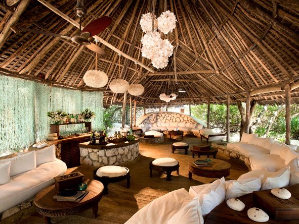 Mnemba Island Lodge, decor