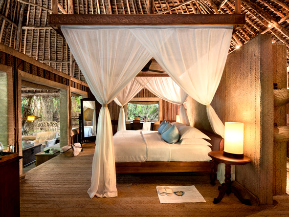 Mnemba Island Lodge, luxury suite