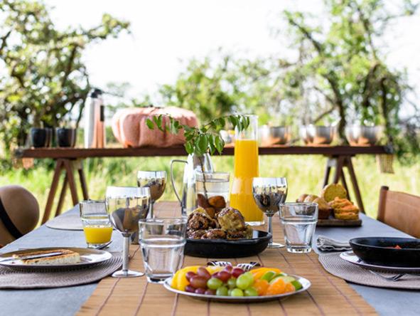 breakfast, Singita Explore