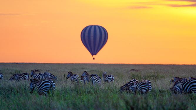 Four Alternatives to a Traditional Safari - Hot-air ballooning