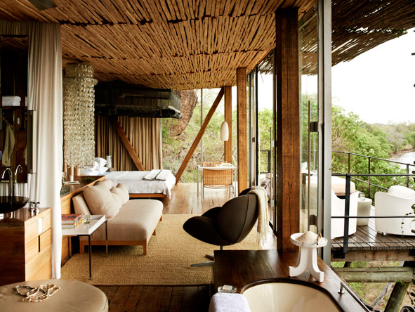 Singita Lebombo Lodge, luxury suites