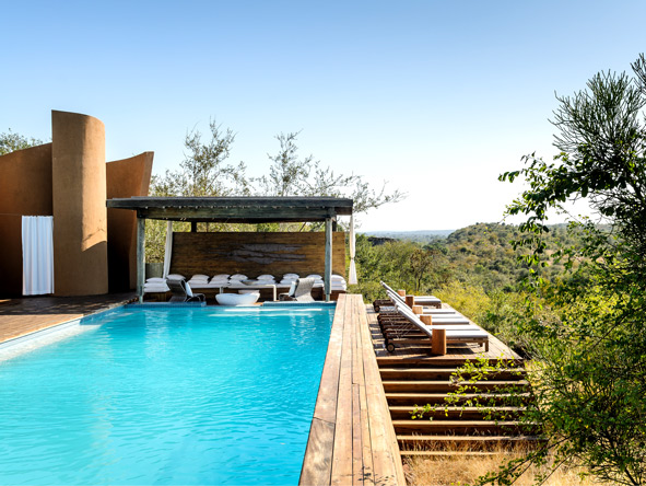Singita Lebombo Lodge, swimming pool