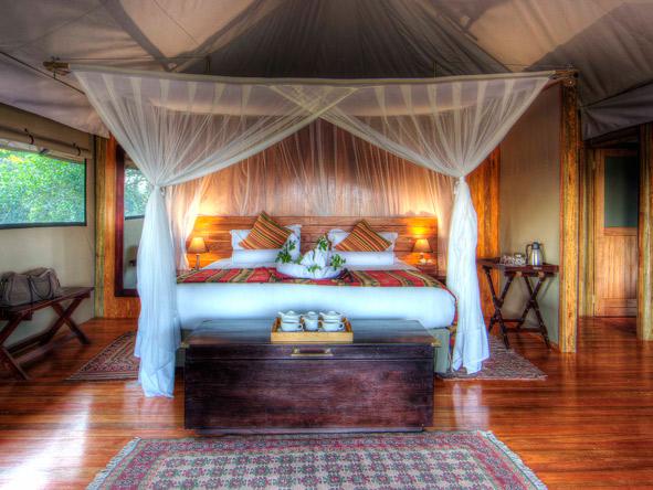 luxury tent, kanana lodge