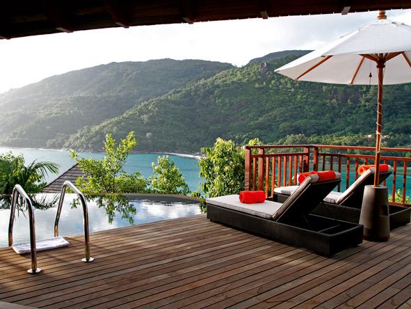Ephelia, deck and plunge pool