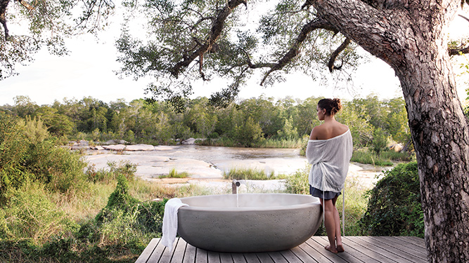 Africa's Top 10 Ultra-Luxurious Hotel Suites - Londolozi Granite Suites