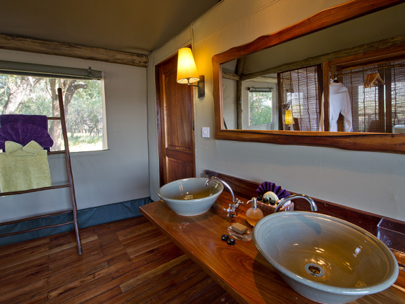 en-suite, xigera camp