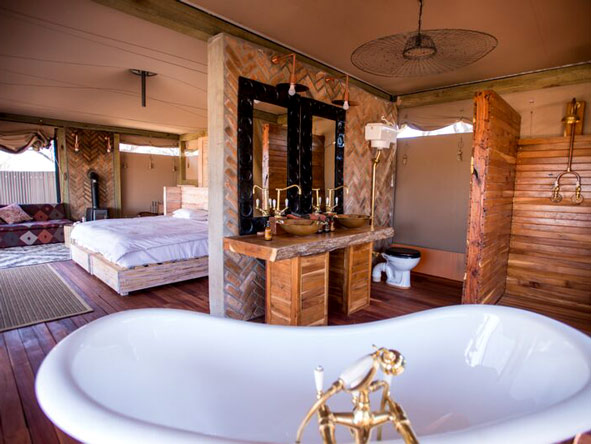 Somalisa Acacia bedroom suites, Hwange National Park