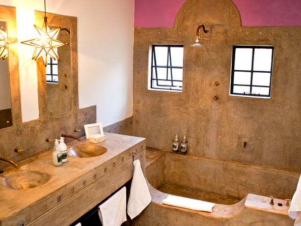en-suite bathroom, olive grove