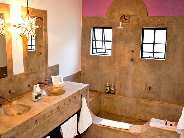 en-suite bathroom, olive grove