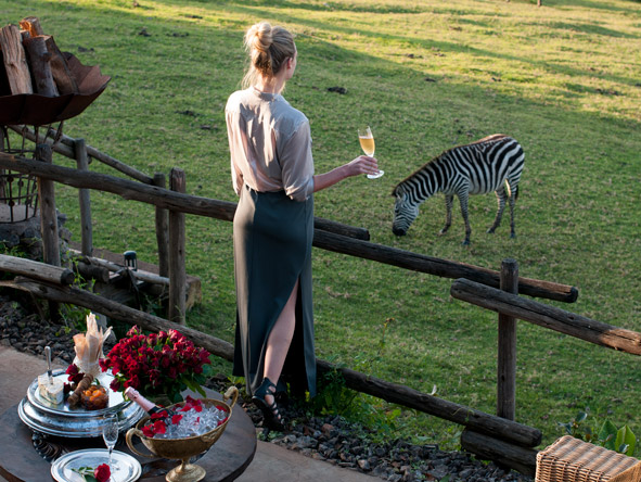 Ngorongoro Crater Lodge, zebra