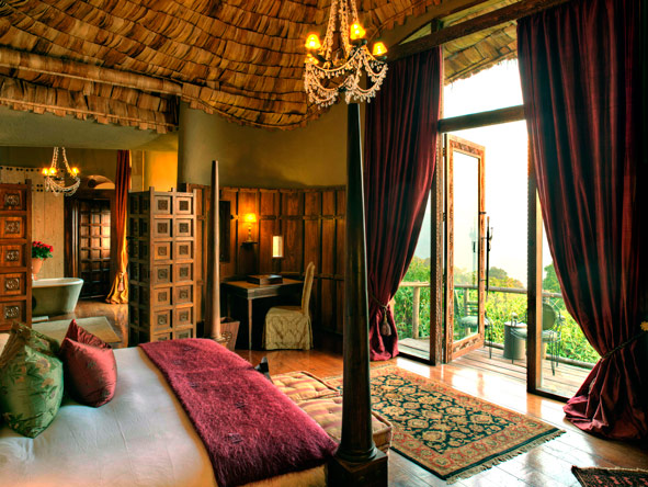 Ngorongoro Crater Lodge, luxury suites