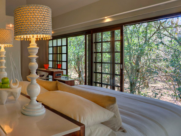 Phinda Forest Lodge, bedroom suite