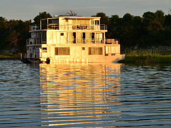Chobe Princess, safari boat, chobe river
