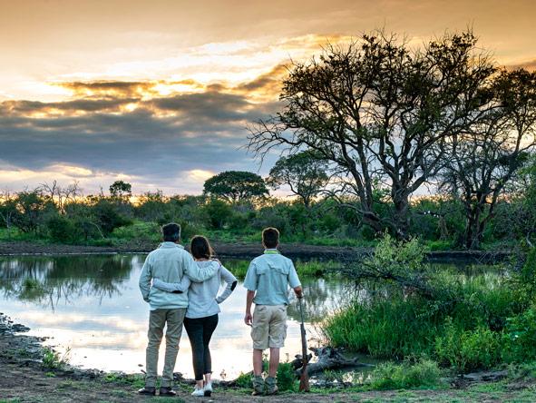 Private safari guide, madikwe