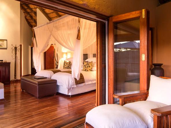 Luxury bedroom suite, Royale Madikwe