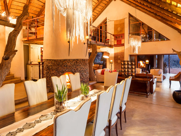 Dining room, Royal Madikwe