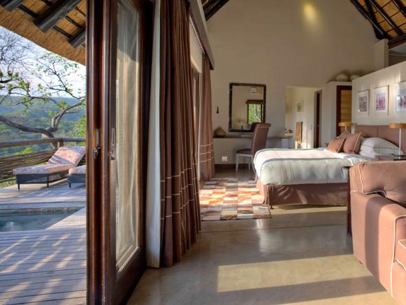 luxury, private suite, Phinda Mountain Lodge