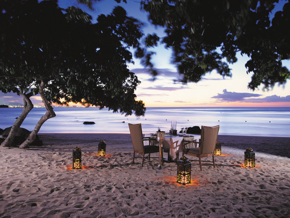 Private beach dinners, mauritius