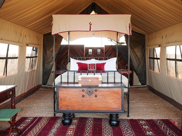 Safari tent, Camp Kalahari