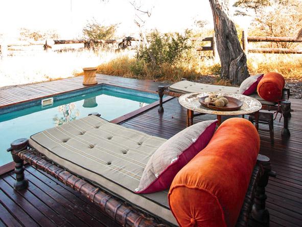 Camp Kalahari, plunge pool