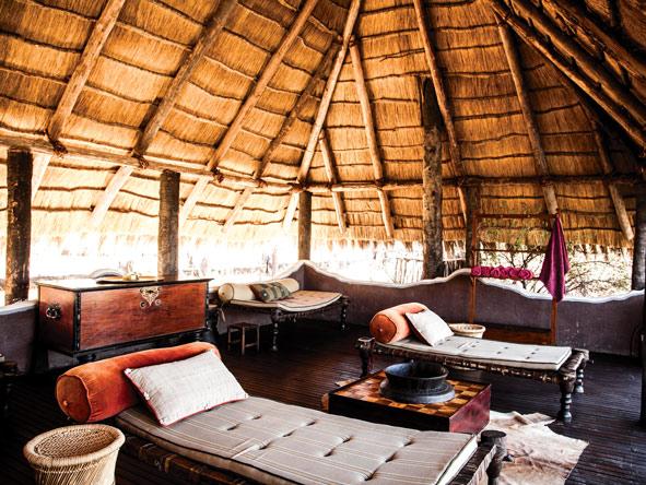pool pavilion, Camp Kalahari, Botswana