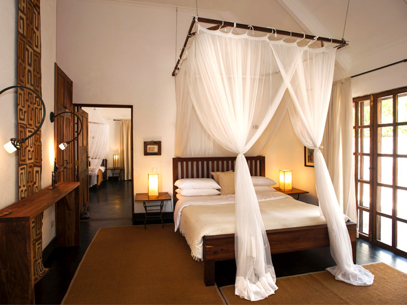 bedroom suite, plantation lodge