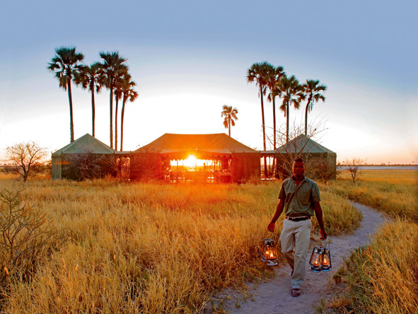meru-style tents, Botswana, Jacks Camp