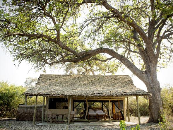 Kigelia, classic bushcamp