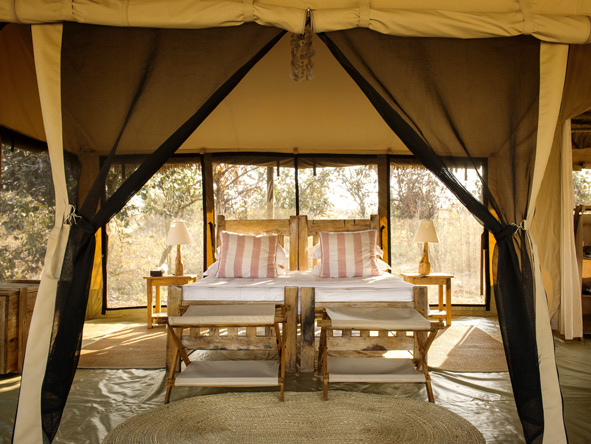 spacious bedrooms, Kigalia Camp, Tanzania