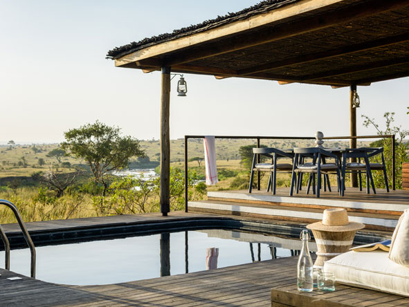 Singita Mara River Tented Camp, pool
