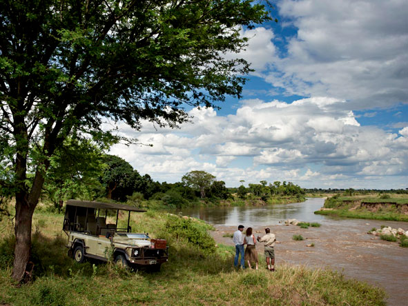 Game drives, Tanzania, Mara River