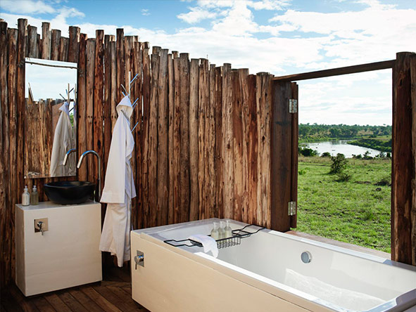 en-suite bathroom, singita Mara