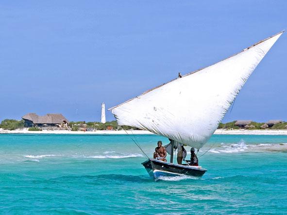 sailing dhow, mozambique