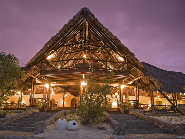 Anantara Medjumbe, main lodge