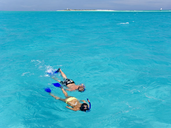 snorkelling in mozambique