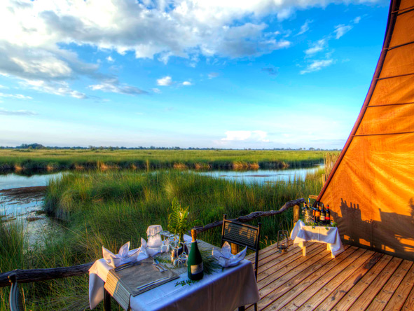 Botswana waterways, Moremi Game Reserve