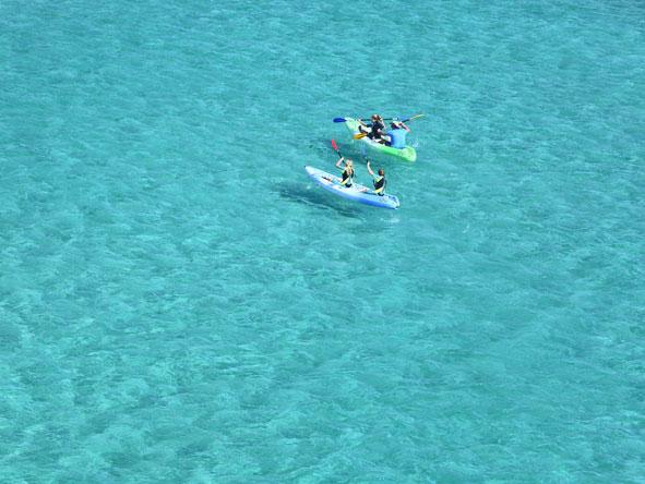 ocean kayak trip